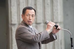 Former Chief of Staff Tamogami Toshio