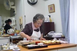 Chef Suzuki Tokiko Prepares Food