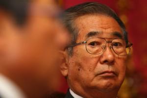 Former mayor of Tokyo, Shintaro Ishihara