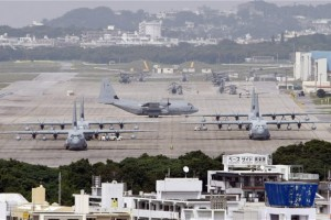 An airbase in Okinawa