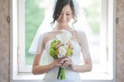 A Japanese bride contemplates her wedding