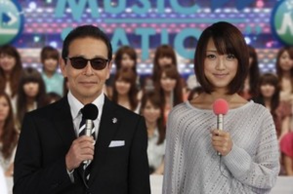 Tamori and Takeuchi Yoshie Present Music Station Japan