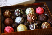 An unemployed man steals another man's valentine chocolates, gets arrested