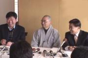 Korean buddhist priest, buddha stolen from Japanese temple.