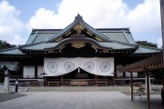 New Komeito Party politician speaks out against LDP visits to the Yasukuni Shrine.