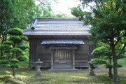 The Hie Shrine in Mobara, Chiba, where the girl was found.