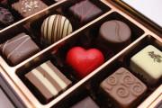 do girls put blood into hand-made valentine's chocolates?