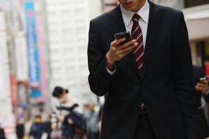 The number of serious accidents involving people using smartphones while walking is on the rise in Japan.
