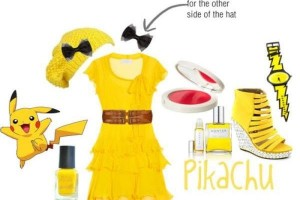 Would you wear a Pikachu-inspired outfit?